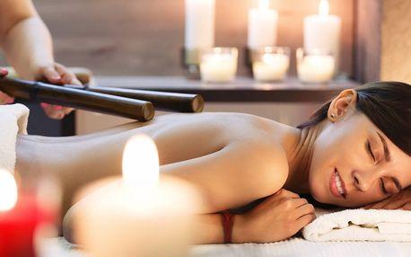 Thajská bambusová masáž - 60 minut