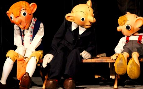 Hra pro dospělé v Divadle Spejbla a Hurvínka