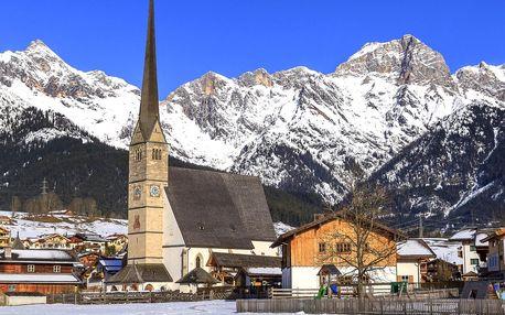 Zimní rakouské Alpy: polopenze, sauna i karta slev