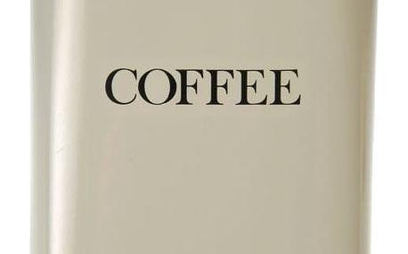 Garden Trading Plechová dóza Coffee - clay, zelená barva, kov