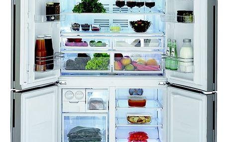 Kombinace chladničky s mrazničkou Beko GNE 114613 X nerez + DOPRAVA ZDARMA