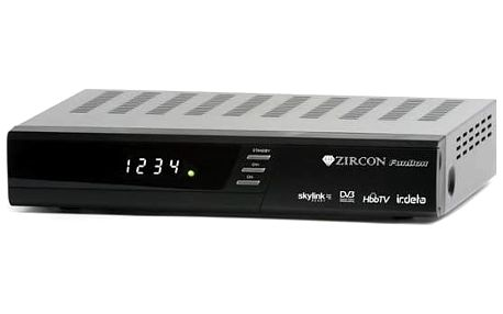 Satelitní přijímač Zircon FunBox (8594163273484) černý