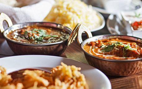 Bohaté autentické nepálské menu pro dva