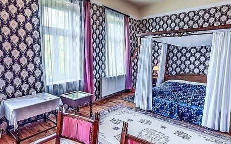 Maďarsko v zámeckém hotelu s wellness