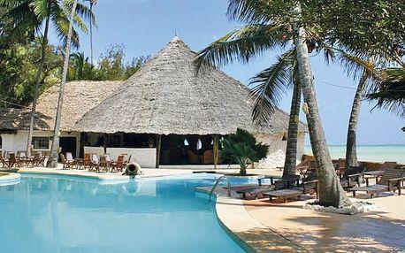 Tanzánie, Zanzibar, letecky na 10 dní snídaně
