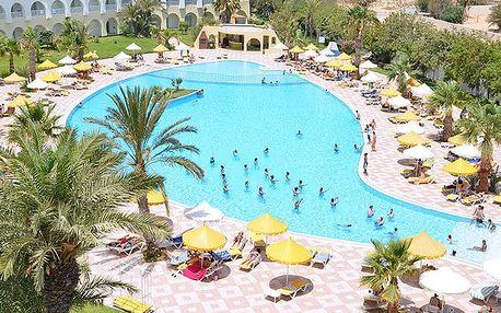 Hotel Sidi Mansour, Djerba, Tunisko, letecky, all inclusive