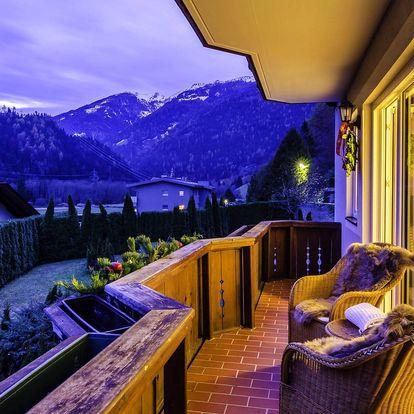 Rakouské Alpy pro 2 či 4 v útulných apartmánech