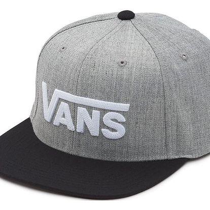Kšiltovka Vans Drop V Snapback heather grey-black univerzální velikost