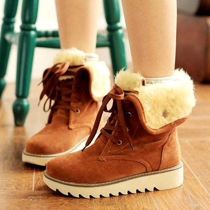 Dámské zimní boty - 4 barvy
