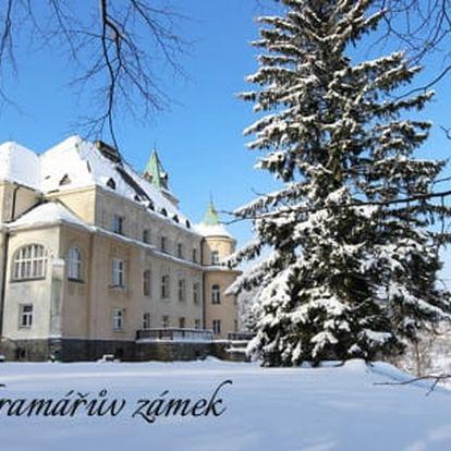 Krkonoše - Kramářův zámek na 3-5 dní pro dva + snídaně, sauna