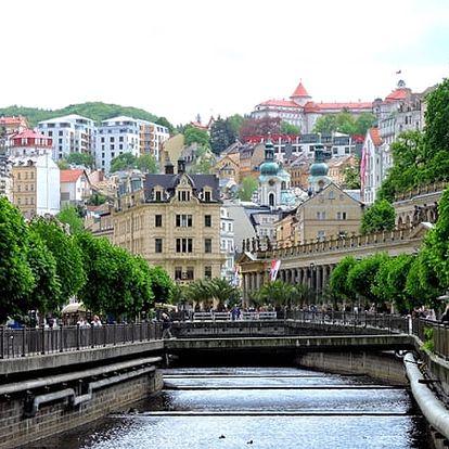 3denní wellness pobyt ve 4* hotelu Heluan & Ester**** s polopenzí a procedurami v Karlových Varech.