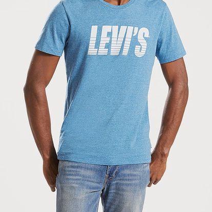 Tričko LEVI'S Graphic Setin Neck 2 Bi Sporty Levis D Modrá