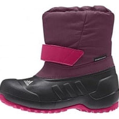 Dětské zimní boty adidas CH WINTERFUN GIRL K | M22752 | Černá, Fialová | 28