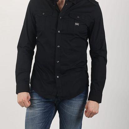 Košile Diesel S-KOIR CAMICIA Černá