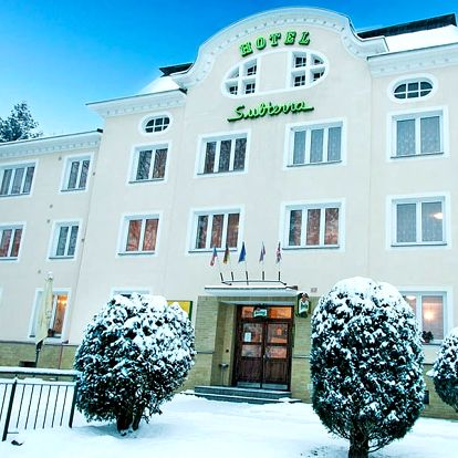 Krušné hory romanticky i aktivně v 3* hotelu nedaleko Karlových Varů s moderním wellness a polopenzí – až do července 2018