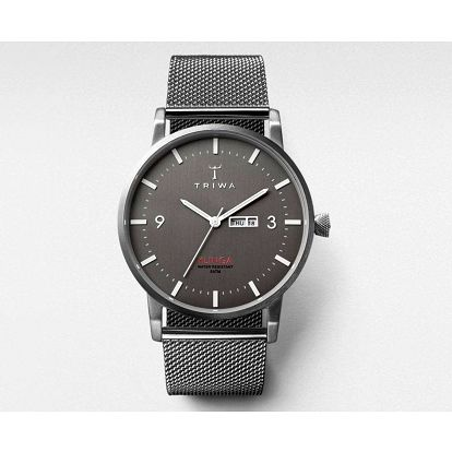 TRIWA Unisexové hodinky Triwa Dusk Klinga Steel, šedá barva, kov