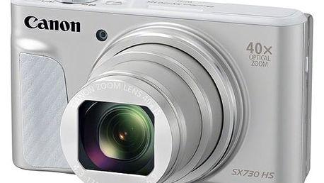 Digitální fotoaparát Canon SX730HS (1792C002) stříbrný + DOPRAVA ZDARMA