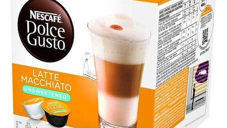 Kapsle pro espressa Nescafé Dolce Gusto LATTÉ MACCHIATTO neslazené