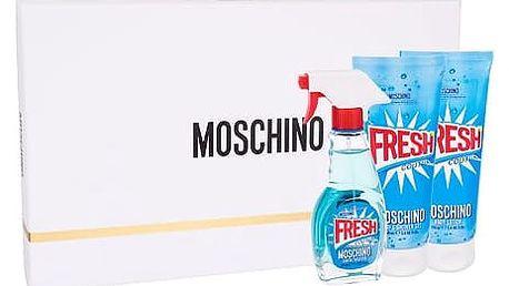 Moschino Fresh Couture EDT dárková sada W - EDT 50 ml + tělové mléko 100 ml + sprchový gel 100 ml