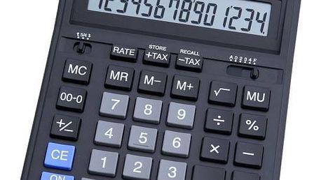 Kalkulačka Citizen SDC-554S (SDC-554S) stříbrná + Doprava zdarma