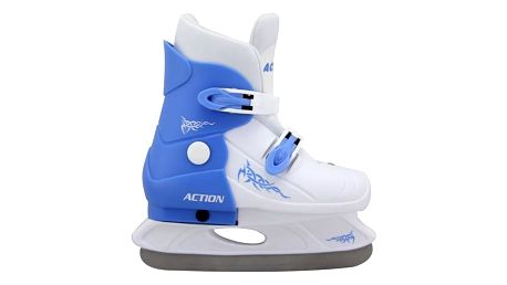 Brusle Acra chlapecké roztahovací plastové, vel. 33 bílé/modré