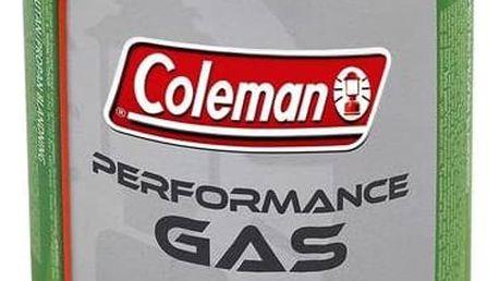Kartuše Coleman C 500 Performance (440 g plynu, ventilová šroubovací) bílá/zelená