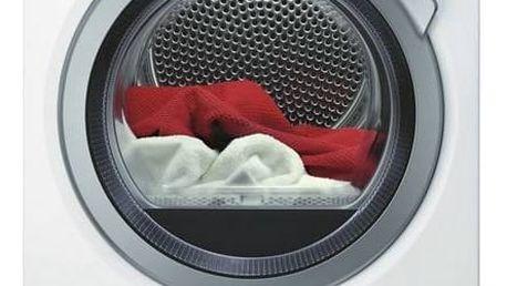 Sušička prádla AEG AbsoluteCare® T8DBE48SC bílá + Cashback 1500 Kč + Doprava zdarma