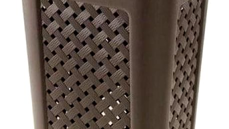 Koš na špinavé prádlo ARIANNA, objem 50, 7 l, 43, 5x33, 5x55cm