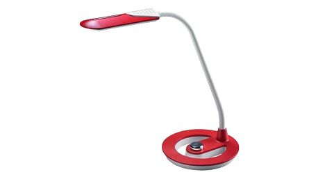 Stolní LED lampička Solight WO38 stmívatelná, 6W (WO38-R) bílá/červená + Doprava zdarma