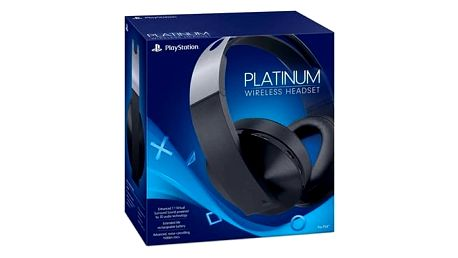 Headset Sony Platinum Wireless pro PS4 s 3D audio (PS719812753) + DOPRAVA ZDARMA