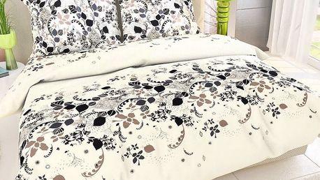 Kvalitex Bavlna povlečení Estela, 200 x 200 cm, 2 ks 70 x 90 cm