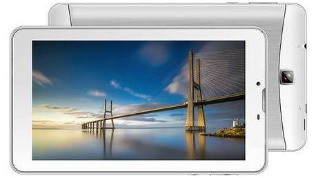 Dotykový tablet iGET SMART G71 (84000209) stříbrný/bílý