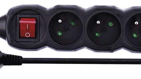 Emos Prodlužovací kabel s vypínačem 3 zásuvky 1,5m