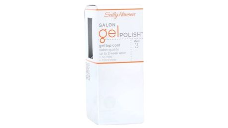 Sally Hansen Salon Gel Polish Step 3 Gel Top Coat 4 ml lak na nehty W