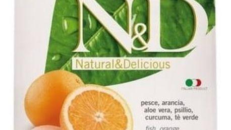 Granule N&D Grain Free CAT Adult Fish & Orange 1,5 kg