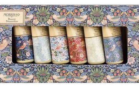 MORRIS & Co. Dárková cestovní kolekce Strawberry Thief, modrá barva, plast, papír