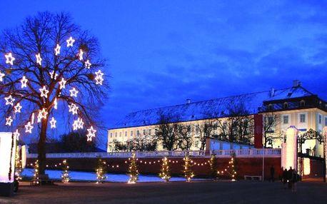 Zámek Schloss Hof a čokoládovna Hauswirth