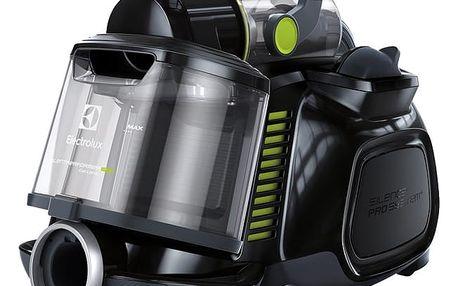 Vysavač podlahový Electrolux SilentPerformer Cyclonic ESPC7GREEN černý/zelený + DOPRAVA ZDARMA