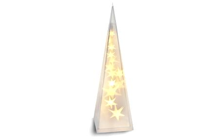 Solight Vánoční pyramida 16 LED teplá bílá, 45 cm