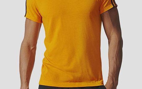 Tričko adidas Performance ESS 3S TEE Žlutá