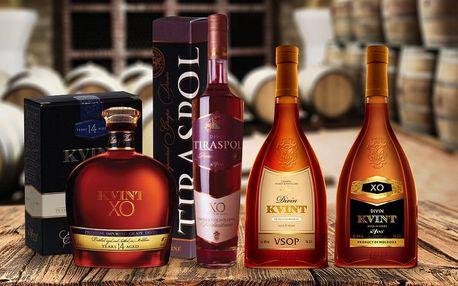 Vzpruha do chladných dnů: Moldavská brandy Kvint