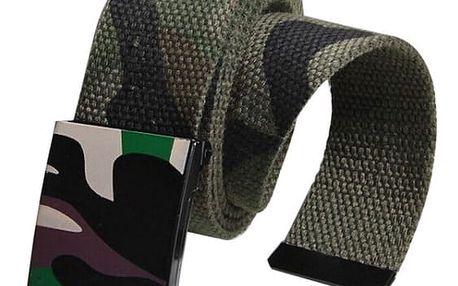 Unisex pásek v maskáčových vzorech - 3 barvy