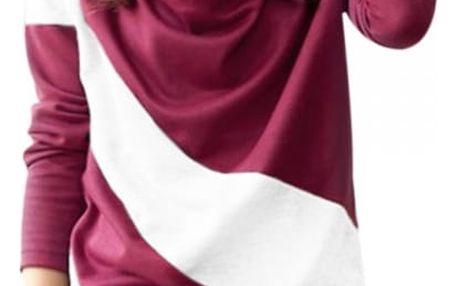 Pruhované dámské tričko - 4 barvy