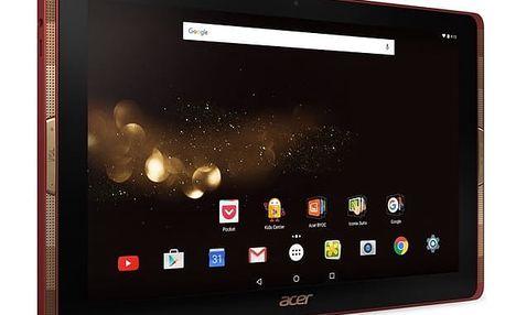 Dotykový tablet Acer Tab 10 (A3-A40-N51V) (NT.LDMEE.002) červený + DOPRAVA ZDARMA
