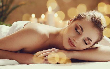 Uvolňující masáž zad s rašelinovým zábalem