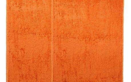 4Home sada Bamboo Premium osuška a ručník oranž, 70 x 140 cm, 50 x 100 cm