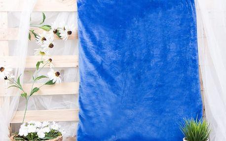 XPOSE ® Deka mikrovlákno - tmavě modrá 200x230 cm
