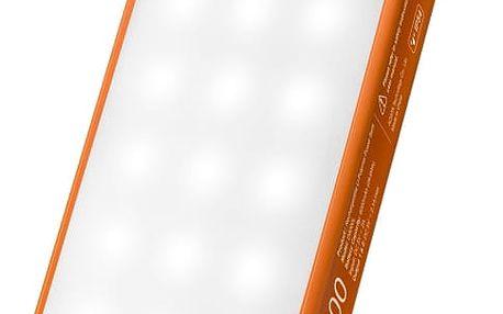 Power Bank ADATA D8000L 8000mAh, outdoor LED svítilna (AD8000L-5V-COR) oranžová