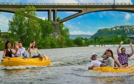 Těšte se na jaro: Vyjížďka v motorovém člunu