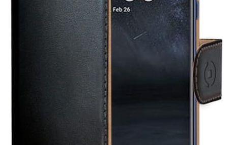 Pouzdro na mobil flipové Celly pro Nokia 5 (WALLY661) černé